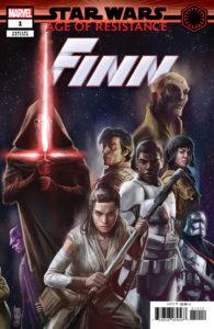 Age of Resistance: Finn #1 (Giuseppe Camuncoli Promo Variant Cover) (03.07.2019)