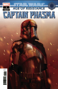Age of Resistance: Captain Phasma #1 (Tonci Zonjic Concept Design Variant Cover) (10.07.2019)