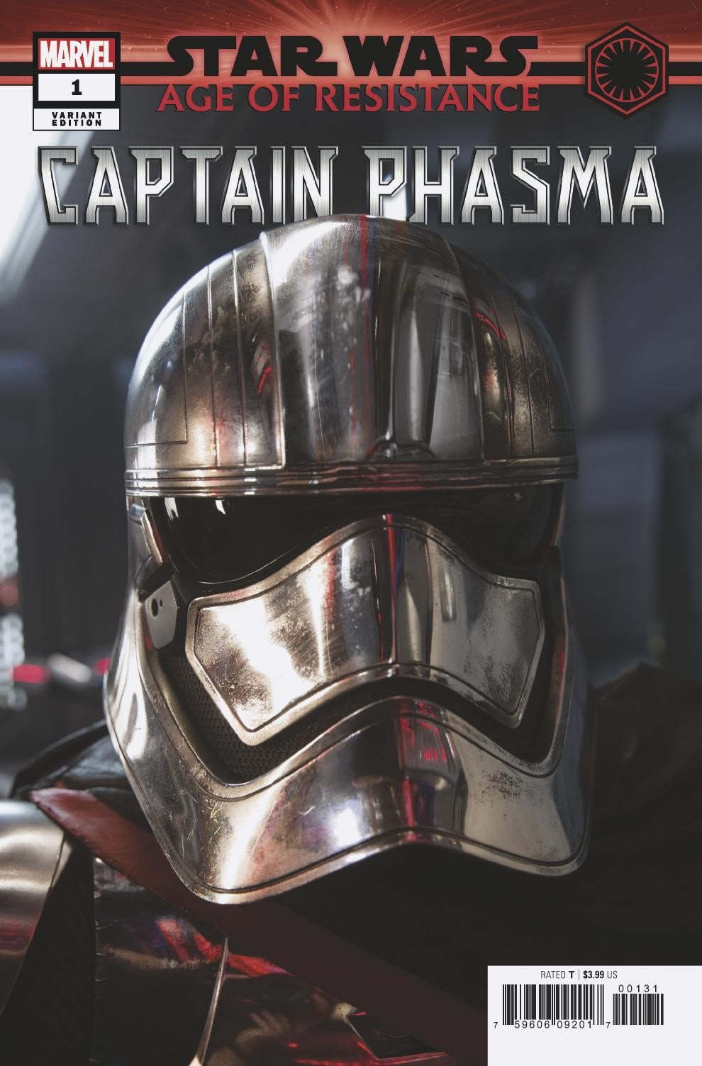 Age of Resistance: Captain Phasma #1 (Movie Variant Cover) (10.07.2019)