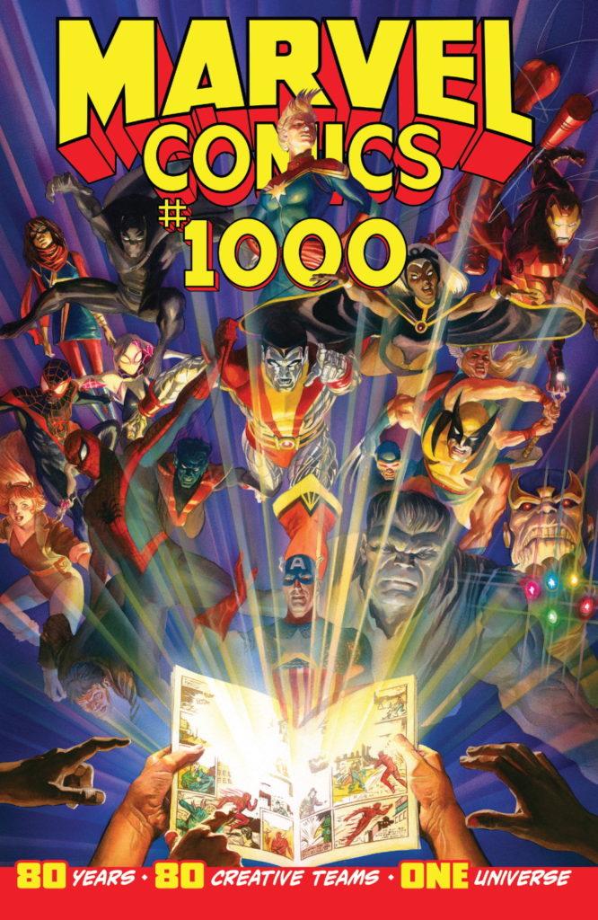 <em>Marvel Comics</em> #1000 Cover