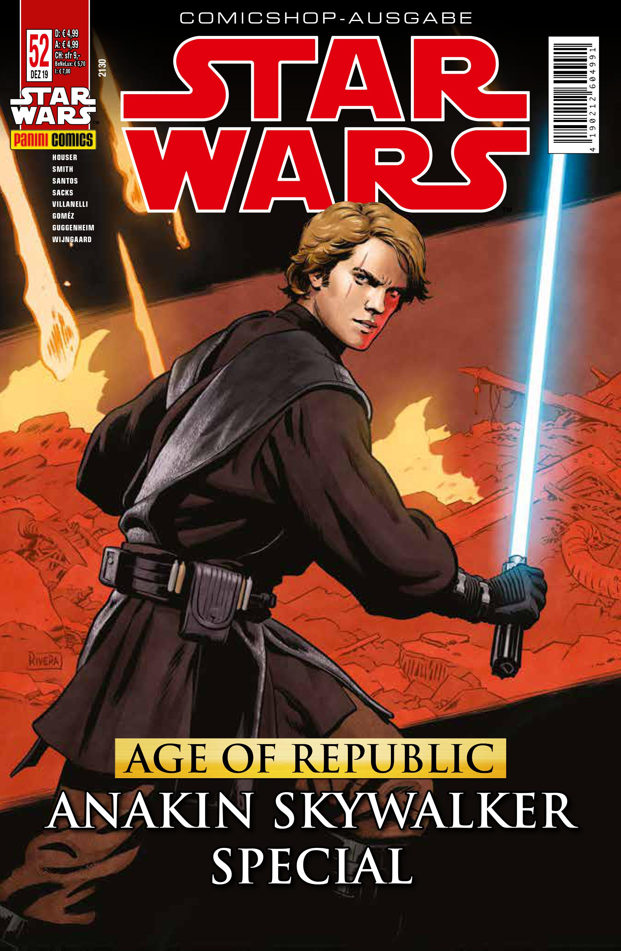 Star Wars #52 (Comicshop-Ausgabe) (20.11.2019)