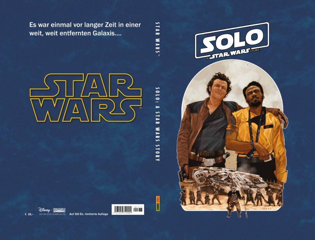 "<a href=""https://jedi-bibliothek.de/datenbank/literatur/solo-a-star-wars-story-limitiertes-hardcover/""><em>Solo: A Star Wars Story</em> (Limitiertes Hardcover)</a> (28.08.2019)"
