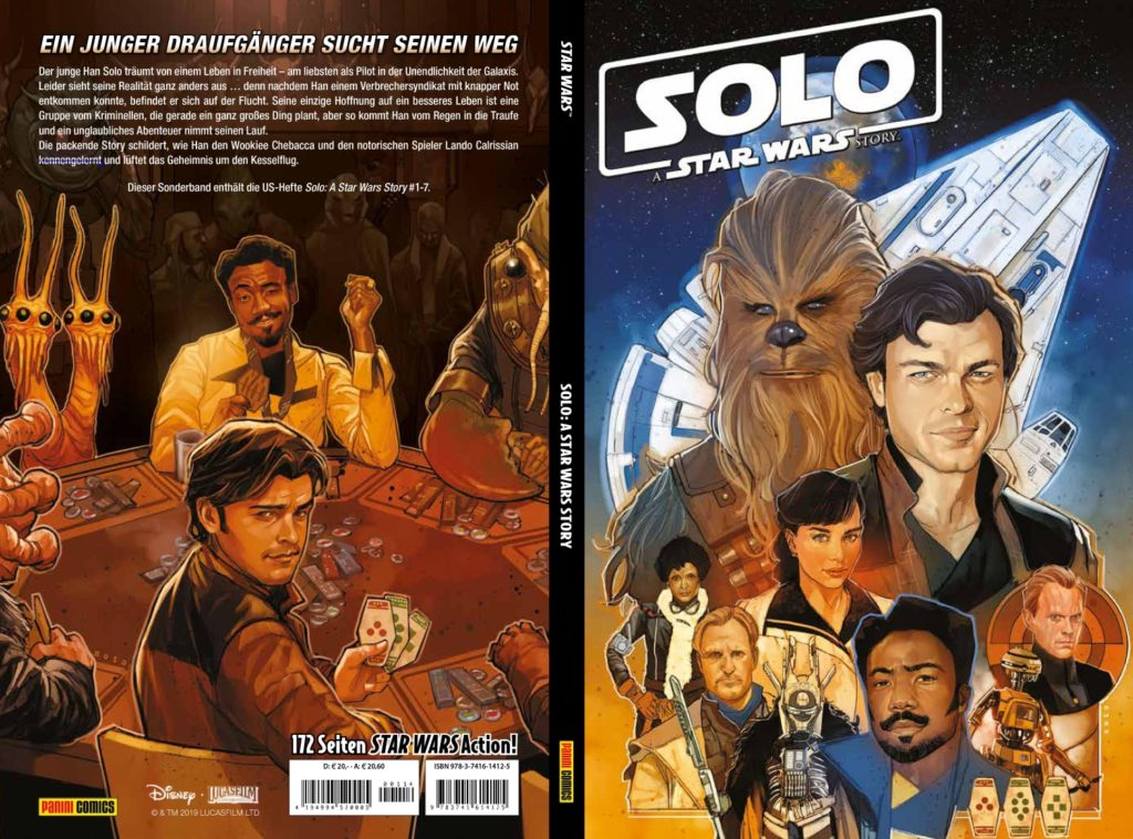 "<a href=""https://jedi-bibliothek.de/datenbank/literatur/solo-9783741614125/""><em>Solo: A Star Wars Story</em></a> (27.08.2019)"
