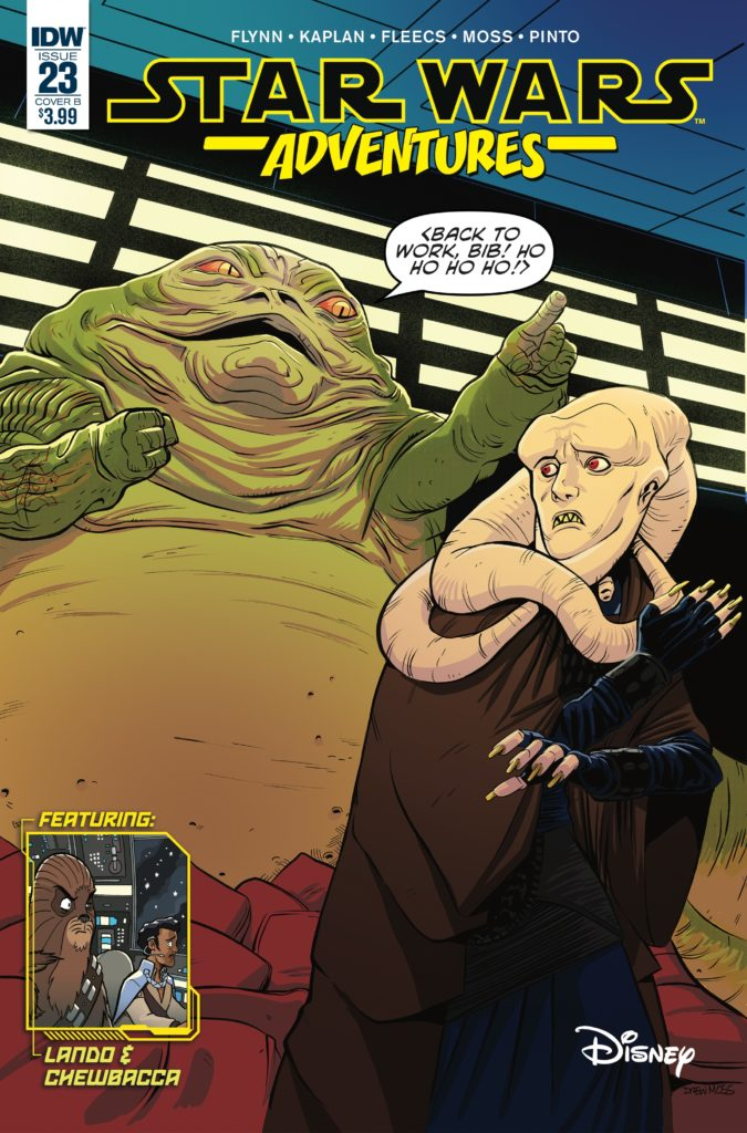 Star Wars Adventures #23 (Cover B by Drew Moss) (03.07.2019)