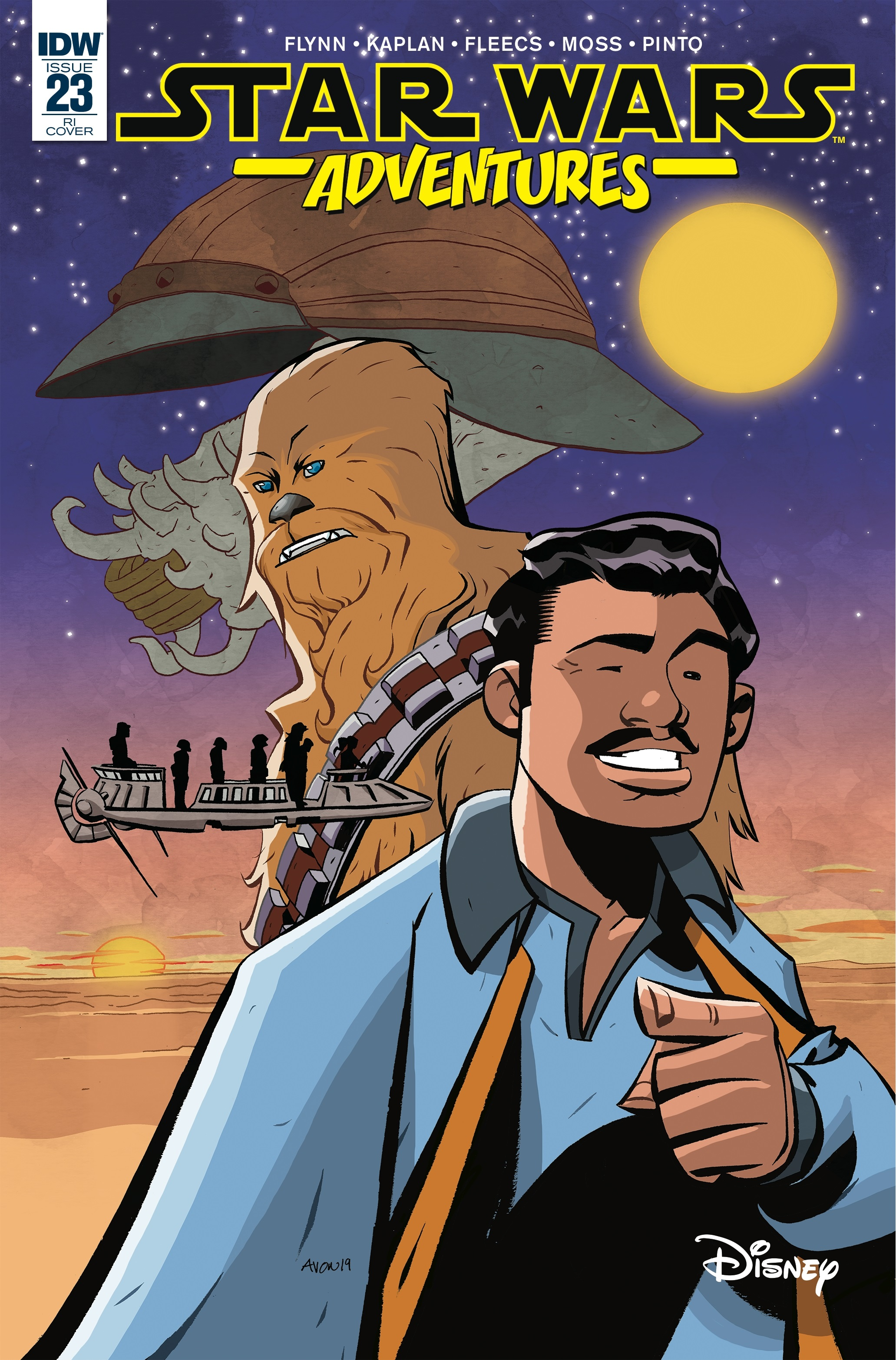 Star Wars Adventures #23 (Mike Oeming Variant Cover) (03.07.2019)