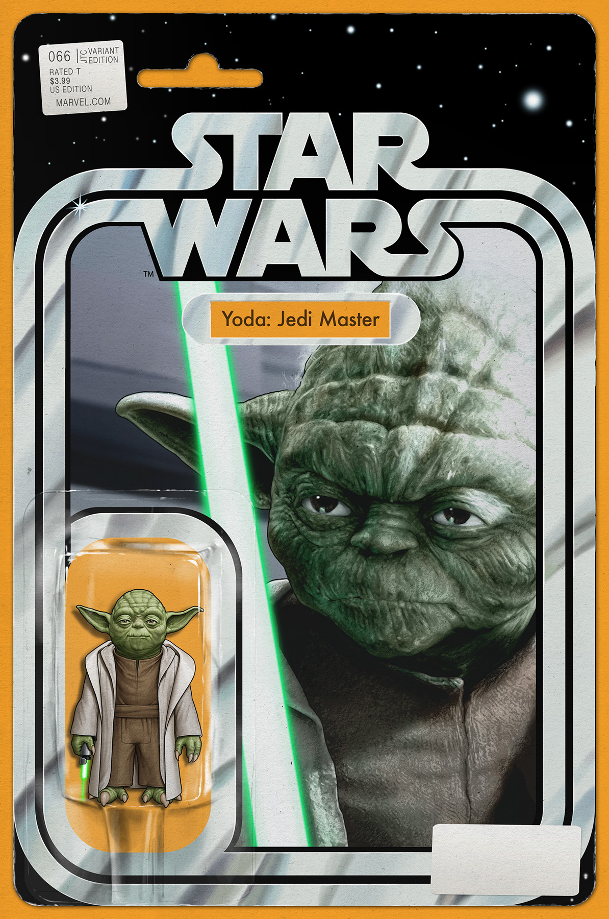 """Star Wars #66 (JTC """"Yoda: Jedi Master"""" Action Figure Variant Cover) (08.07.2019)"""