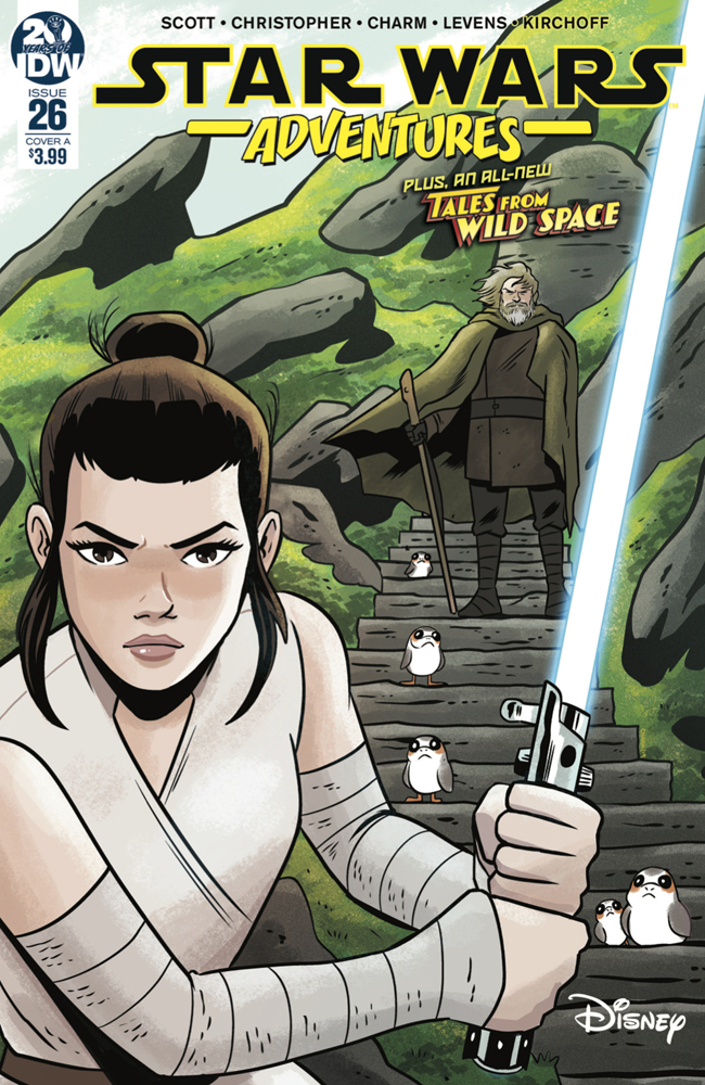 Star Wars Adventures #26 (Cover A by Derek Charm) (25.09.2019)
