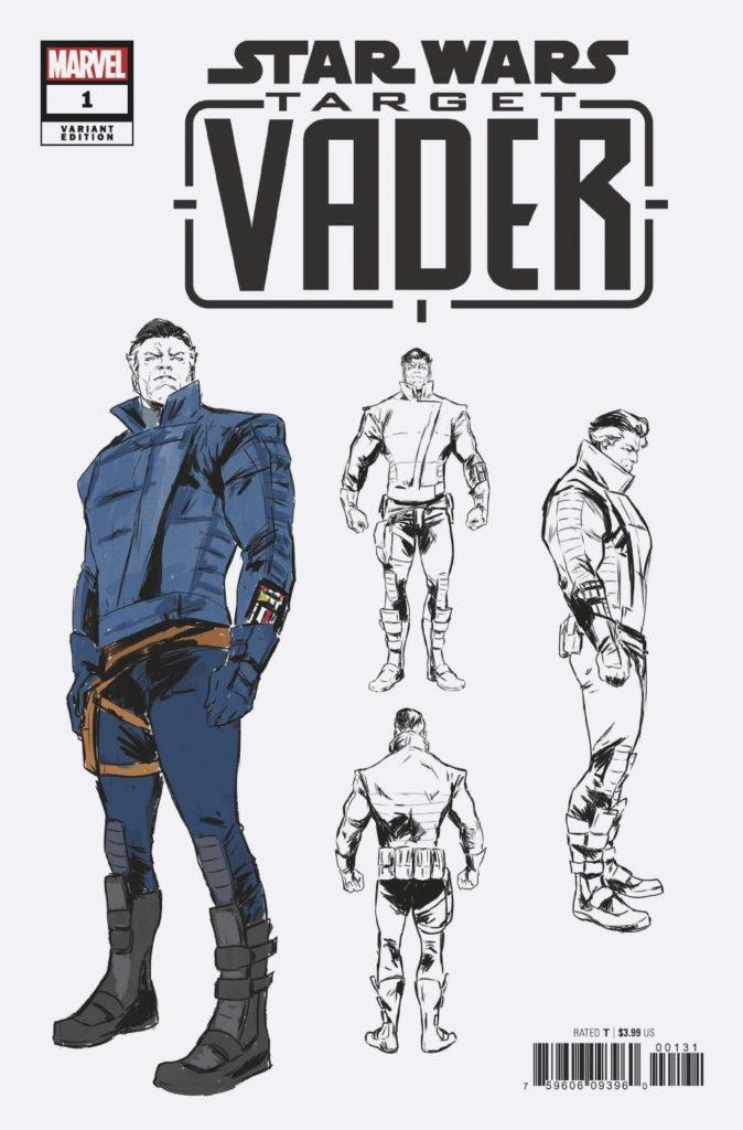 Target Vader #1 (Carmen Carnero Design Variant Cover) (03.07.2019)