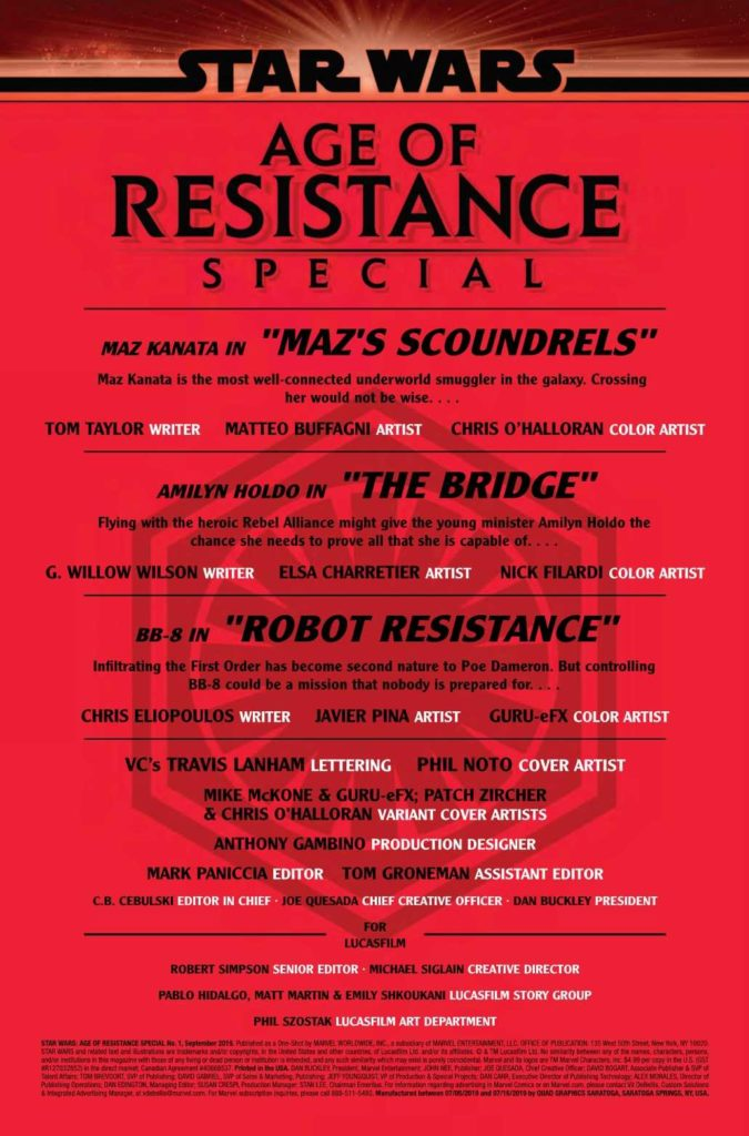 Age of Resistance Special #1 - Seite 1