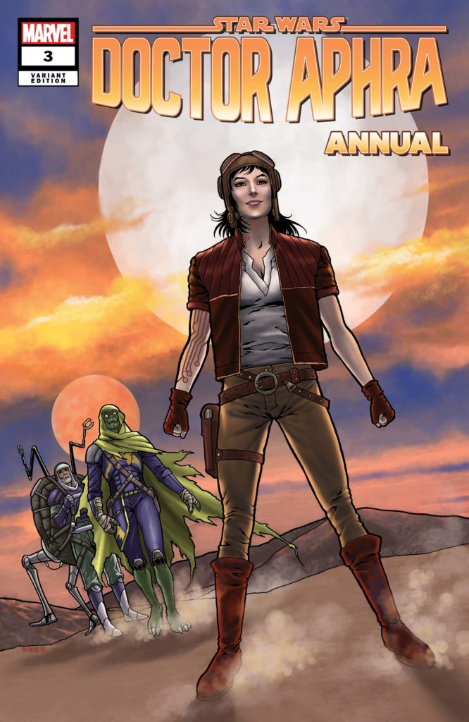 Doctor Aphra Annual #3 (Colleen Doran Variant Cover) (30.10.2019)