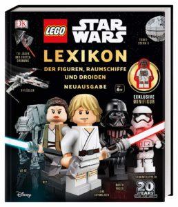 Lego Star Wars Lexikon Neuausgabe Cover mit Minifigur