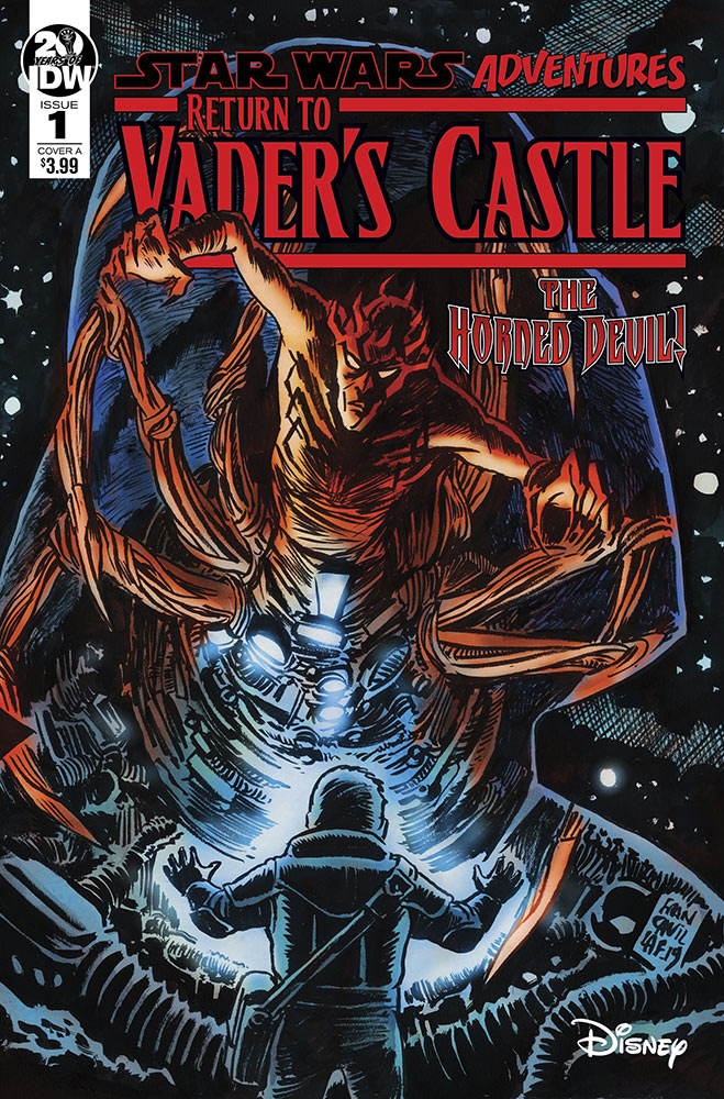 Return to Vader's Castle #1 (Cover A by Francesco Francavilla) (02.10.2019)