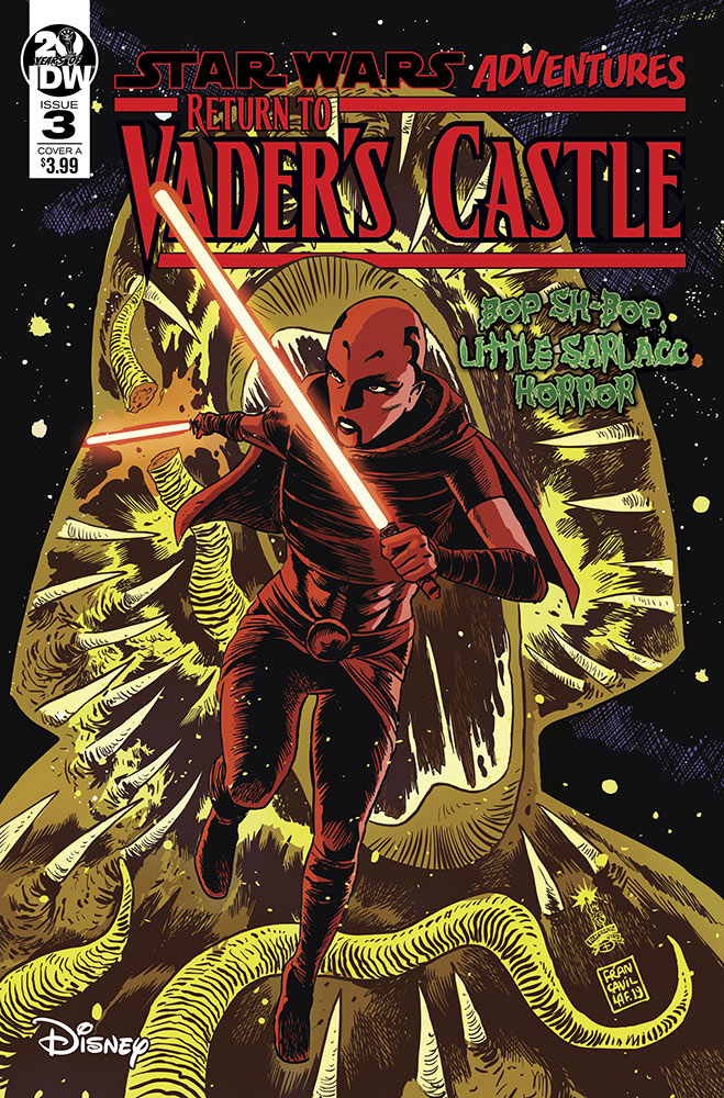 Return to Vader's Castle #3 (Cover A by Francesco Francavilla) (16.10.2019)