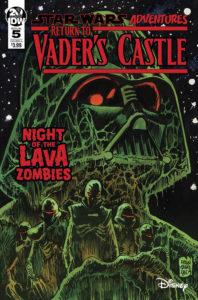 Return to Vader's Castle #5 (Cover A by Francesco Francavilla) (30.10.2019)