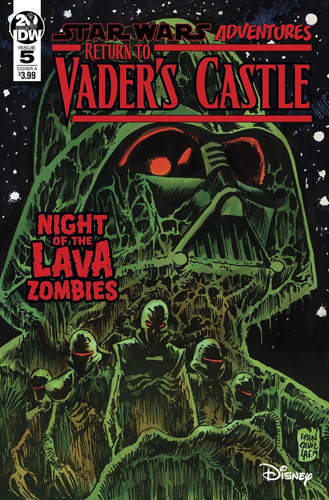 <em>Return to Vader's Castle</em> (Cover by Francesco Francavilla)