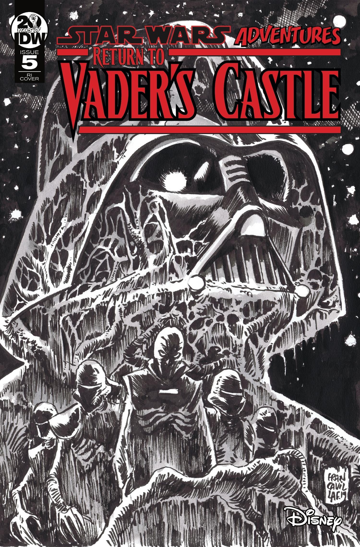 Return to Vader's Castle #5 (Francesco Francavilla Black & White Variant Cover) (30.10.2019)