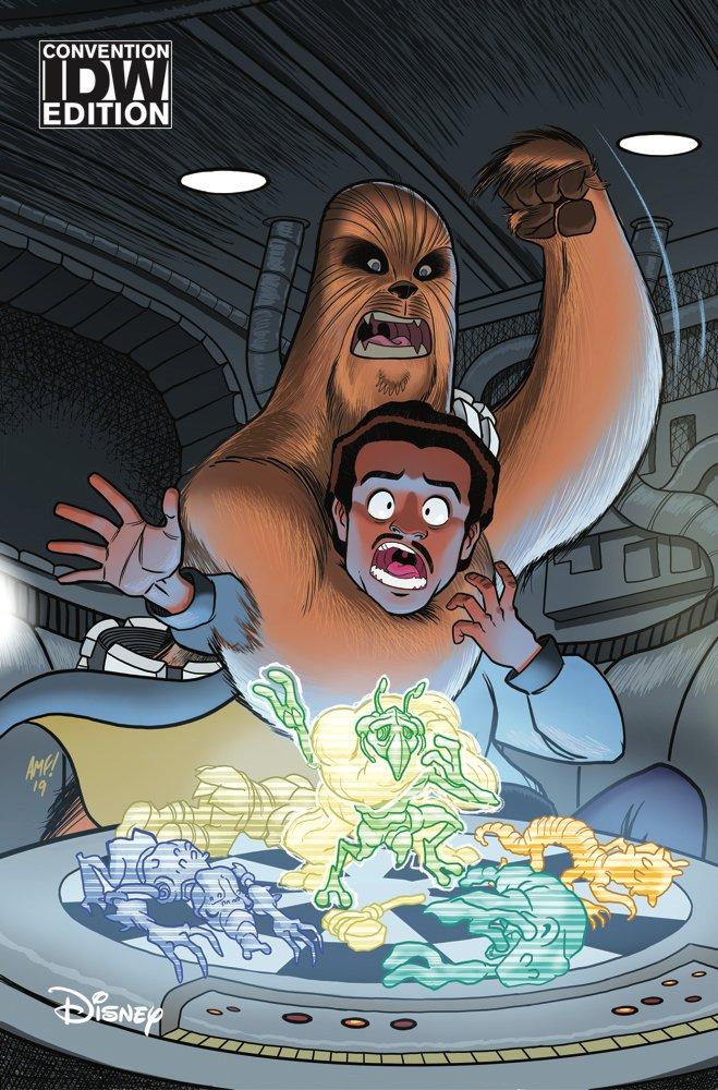 Star Wars Adventures #23 (Tony Fleecs SDCC Convention Variant Cover) (18.07.2019)