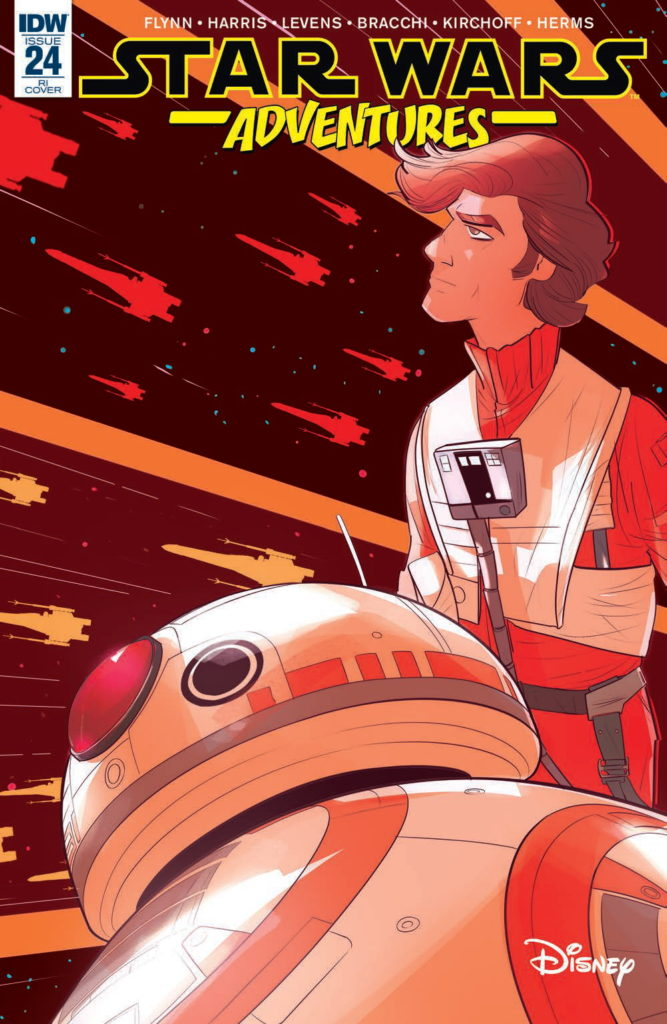 Star Wars Adventures #24 (Stefano Simeone Variant Cover) (31.07.2019)