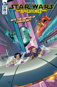 Star Wars Adventures #25 (Cover B by Megan Levens) (11.09.2019)