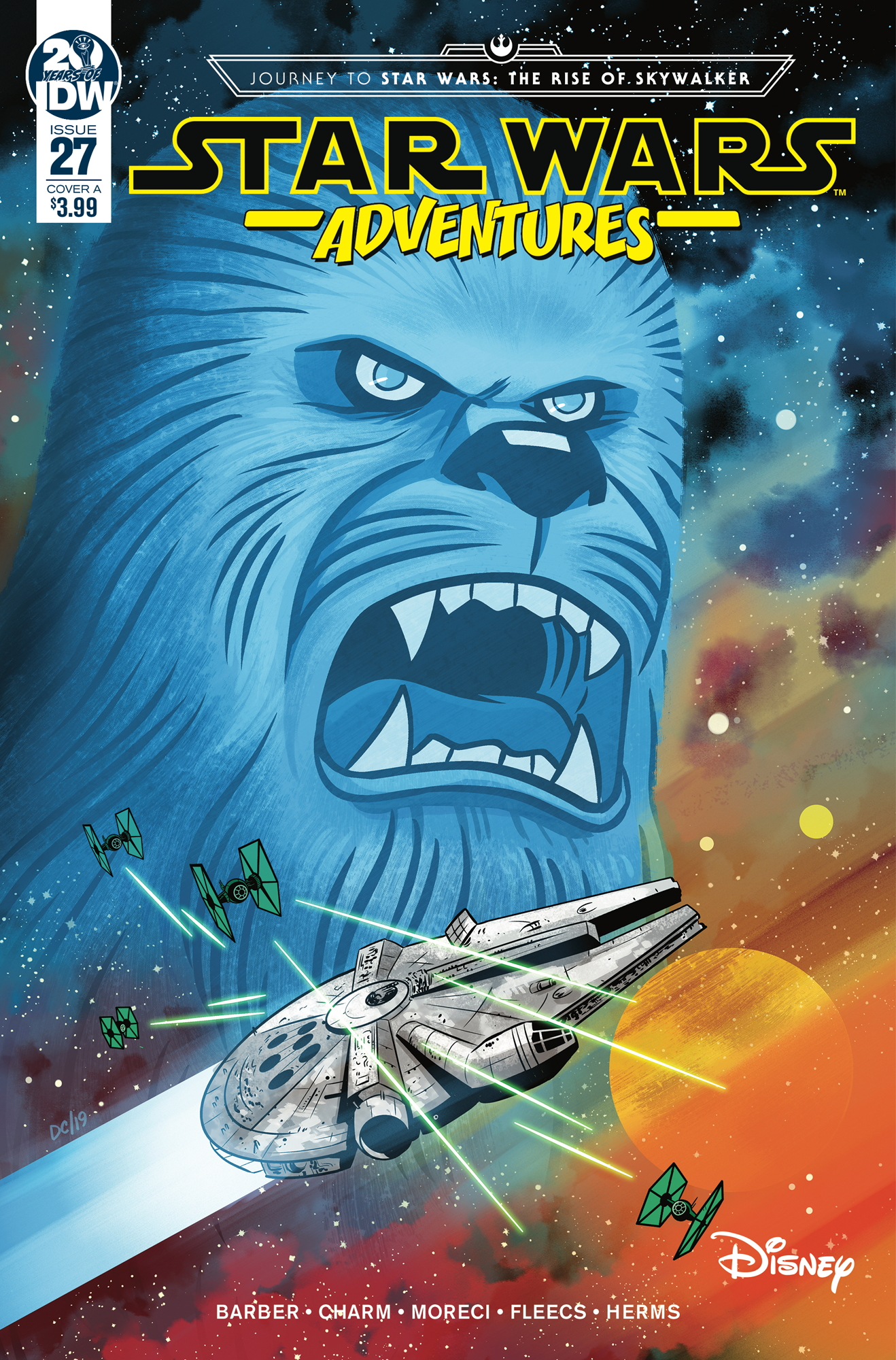 Star Wars Adventures #27 (Cover A by Derek Charm)