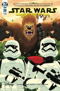 Star Wars Adventures #28 (Cover A by Derek Charm)