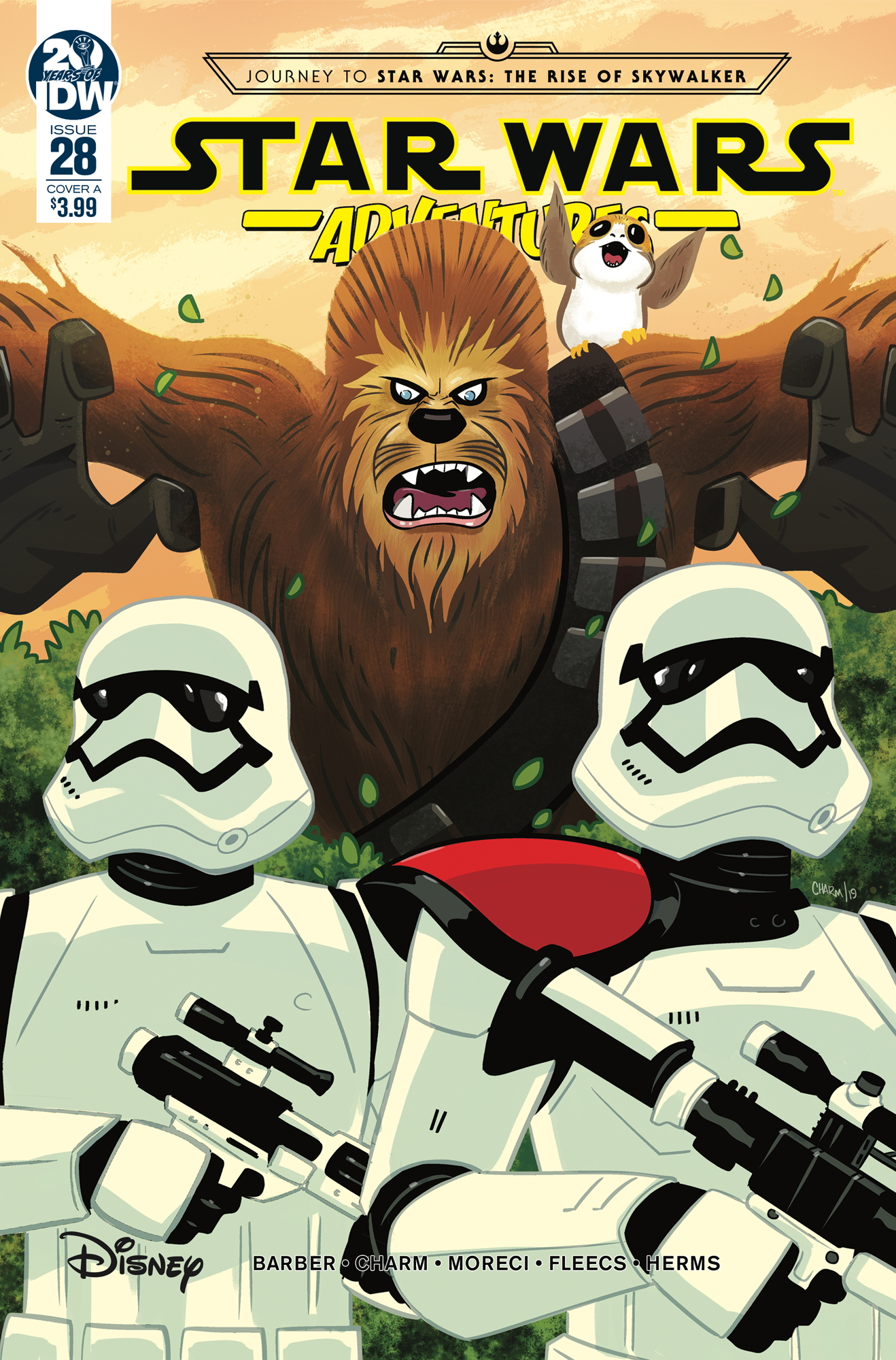 <em>Star Wars Adventures</em> #28 (Cover A by Derek Charm)