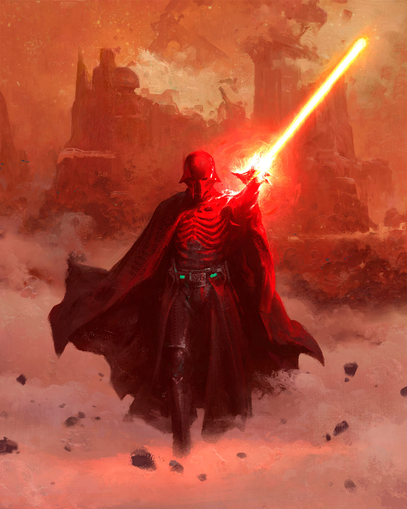 Star Wars: Myths & Fables Darth Vader