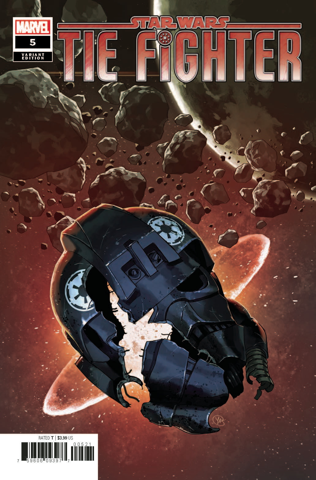 TIE Fighter #5 (Yasmine Putri Variant Cover) (21.08.2019)