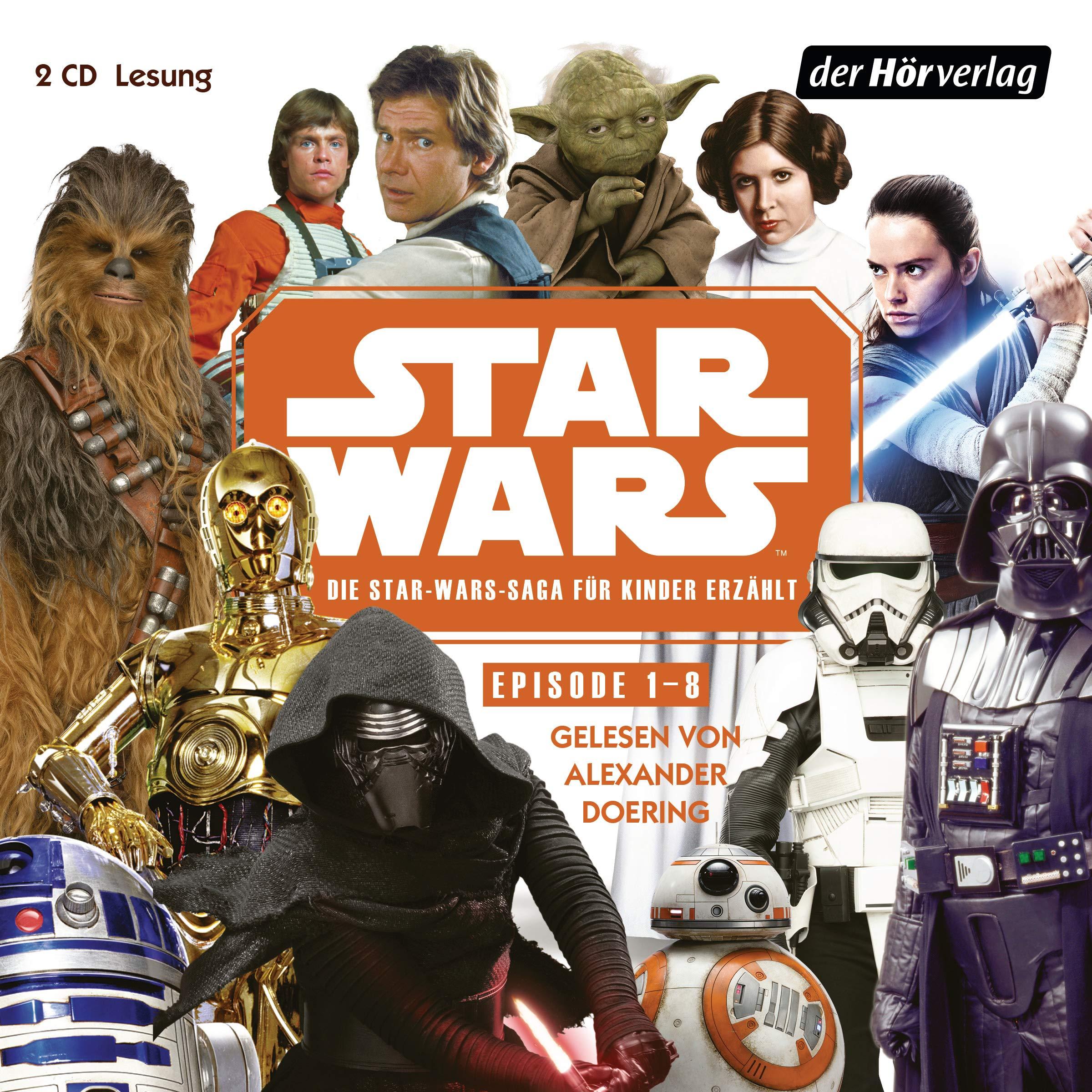 Star Wars Episode I-VIII - Die Star Wars-Saga für Kinder erzählt (11.11.2019)