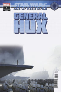 Age of Resistance: General Hux #1 (Kevin Jenkins Concept Design Variant Cover) (28.08.2019)