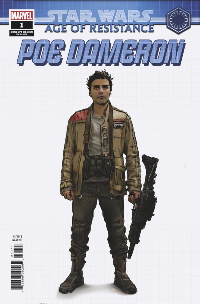 Age of Resistance: Poe Dameron #1 (Concept Design Variant Cover) (28.08.2019)