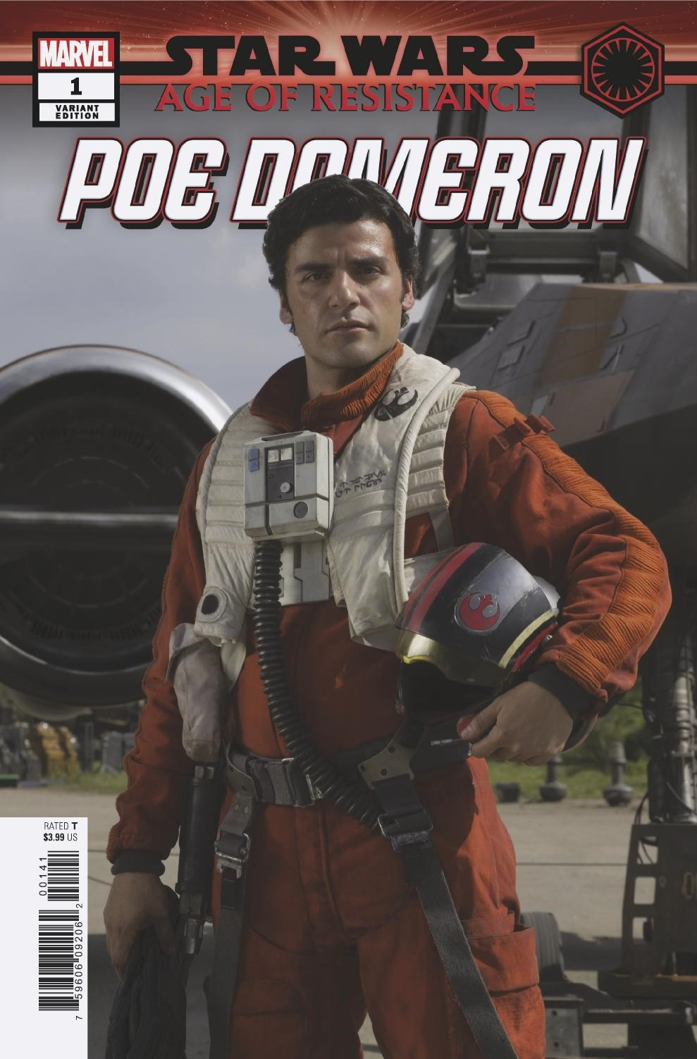 Age of Resistance: Poe Dameron #1 (Movie Variant Cover) (28.08.2019)