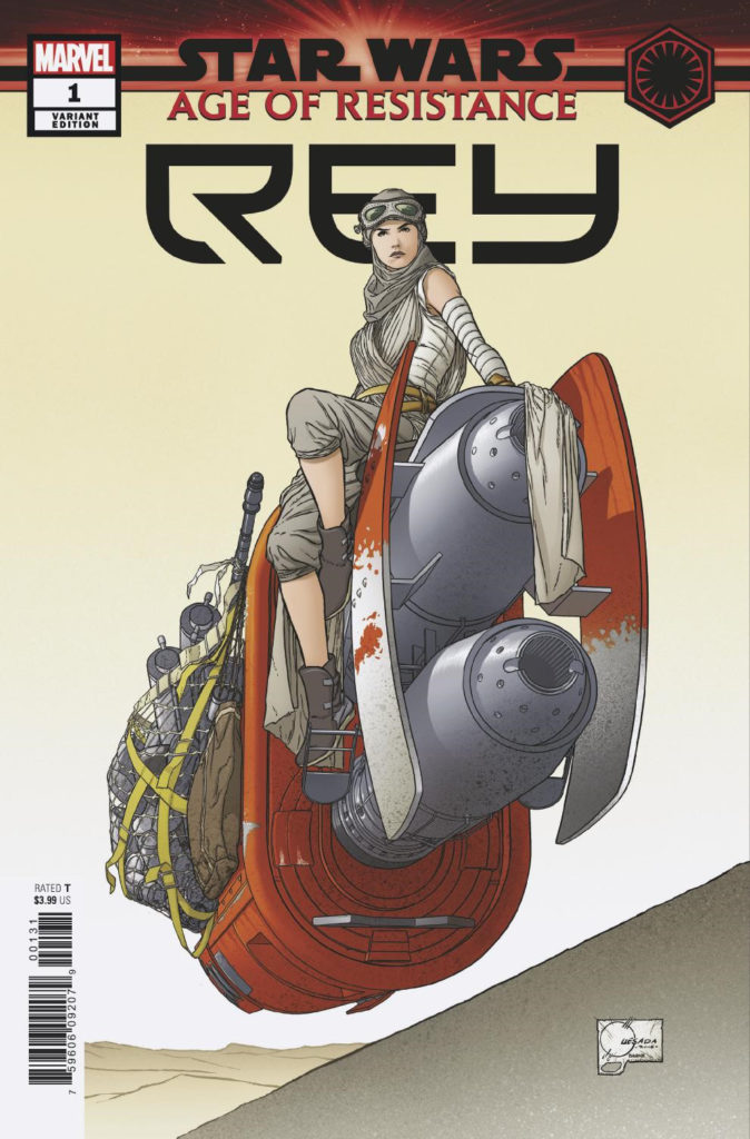 Age of Resistance: Rey #1 (Joe Quesada Variant Cover) (18.09.2019)