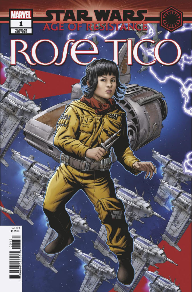 Age of Resistance: Rose Tico #1 (Mike McKone Puzzle Piece Variant Cover 24 of 27) (18.09.2019)
