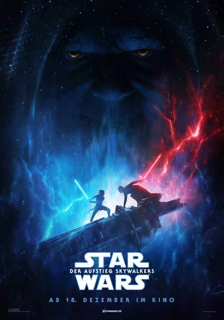 <em>Star Wars: Der Aufstieg Skywalkers</em> - Teaserplakat DE