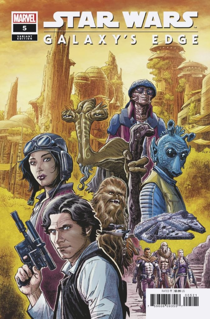 Galaxy's Edge #5 (Luke Ross Variant Cover) (28.08.2019)