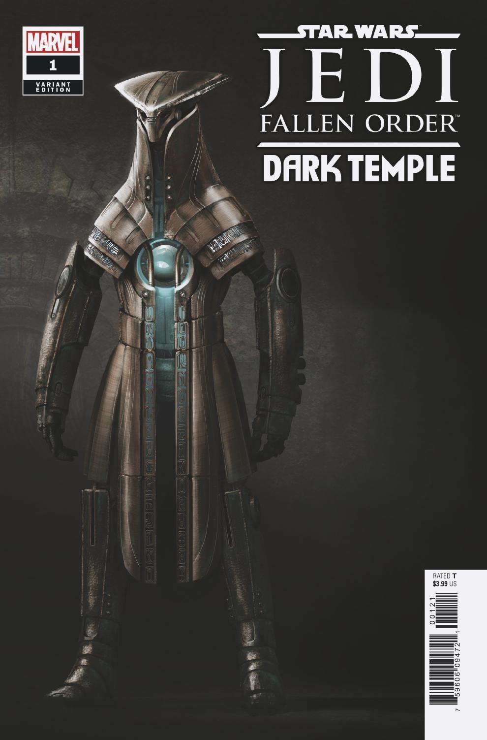 Jedi: Fallen Order: Dark Temple #1 (Game Variant Cover) (04.09.2019)