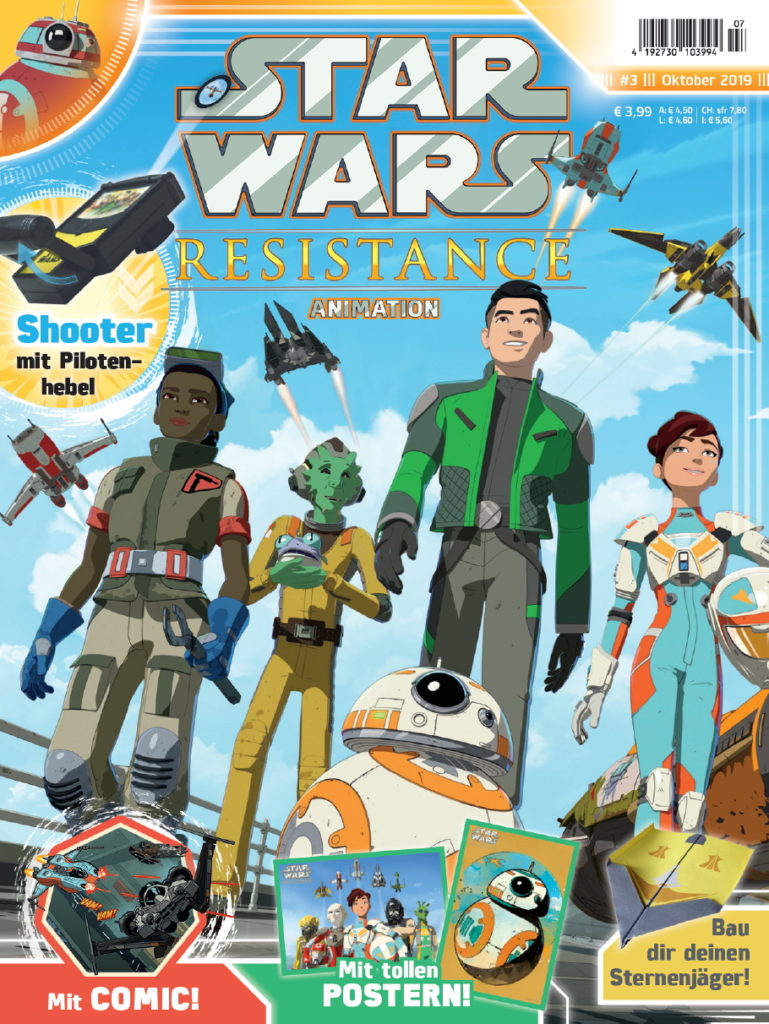 Star Wars Resistance Animation #3 (18.09.2019)