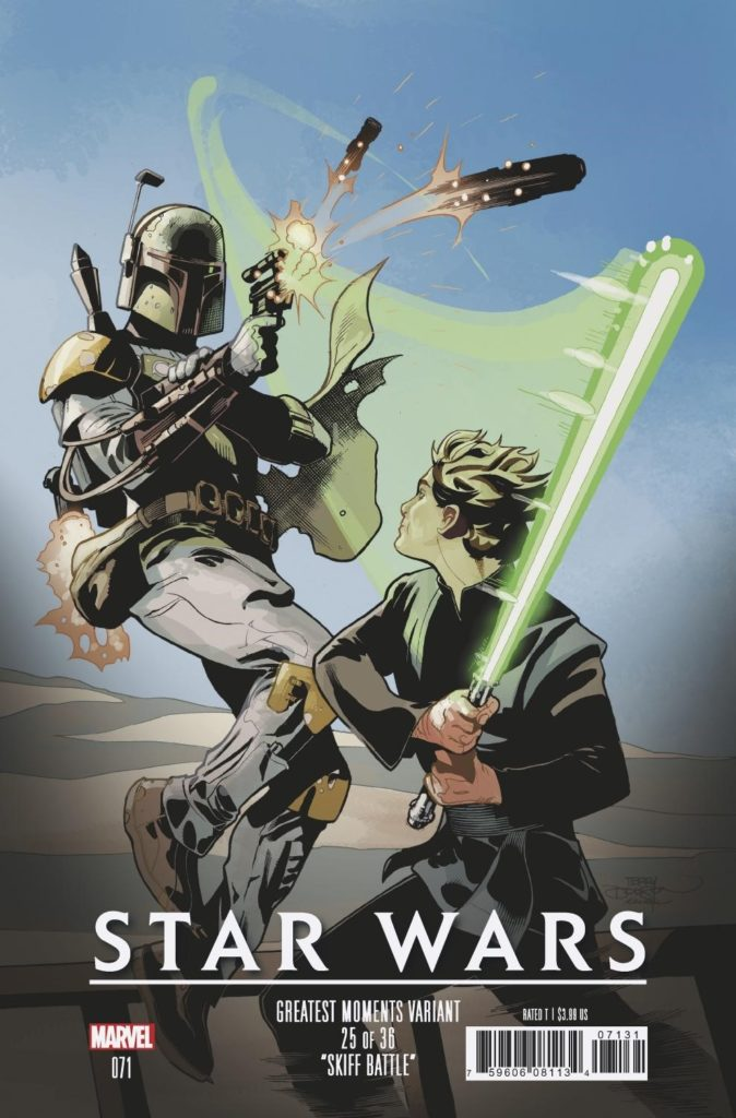 Star Wars #71 (Terry Dodson Greatest Moments Variant Cover 25 of 36) (04.09.2019)