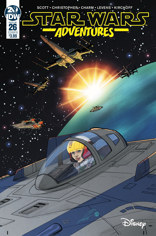 Star Wars Adventures #26 (Megan Levens Variant Cover) (25.09.2019)