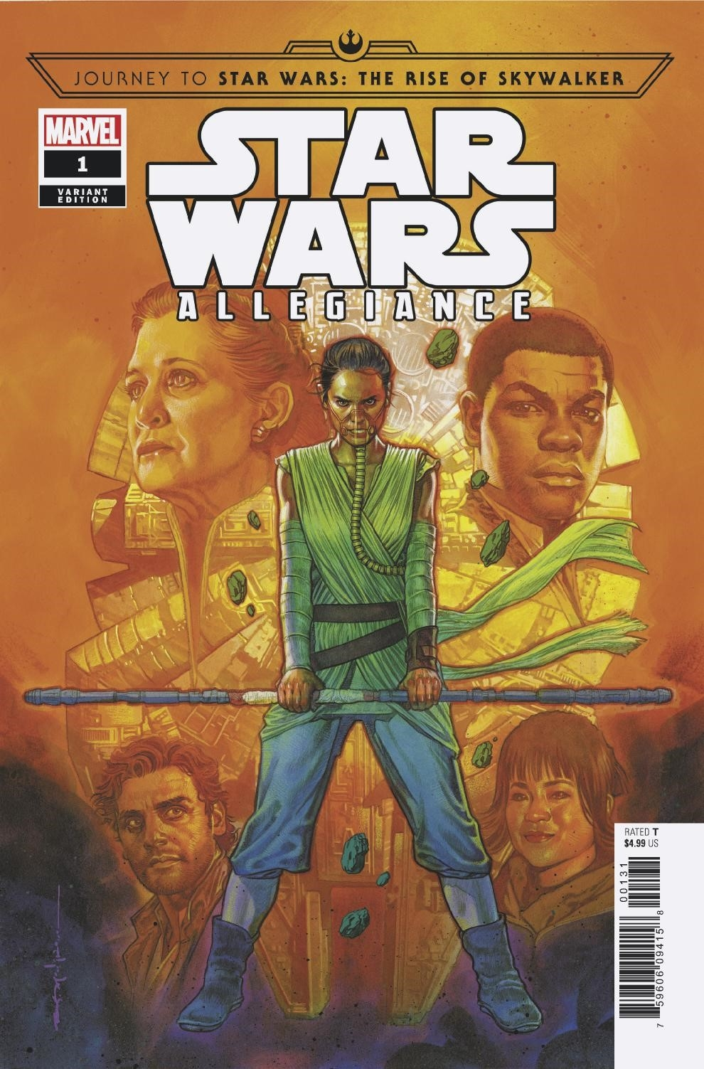 Allegiance #1 (Brian Stelfreeze Variant Cover) (09.10.2019)