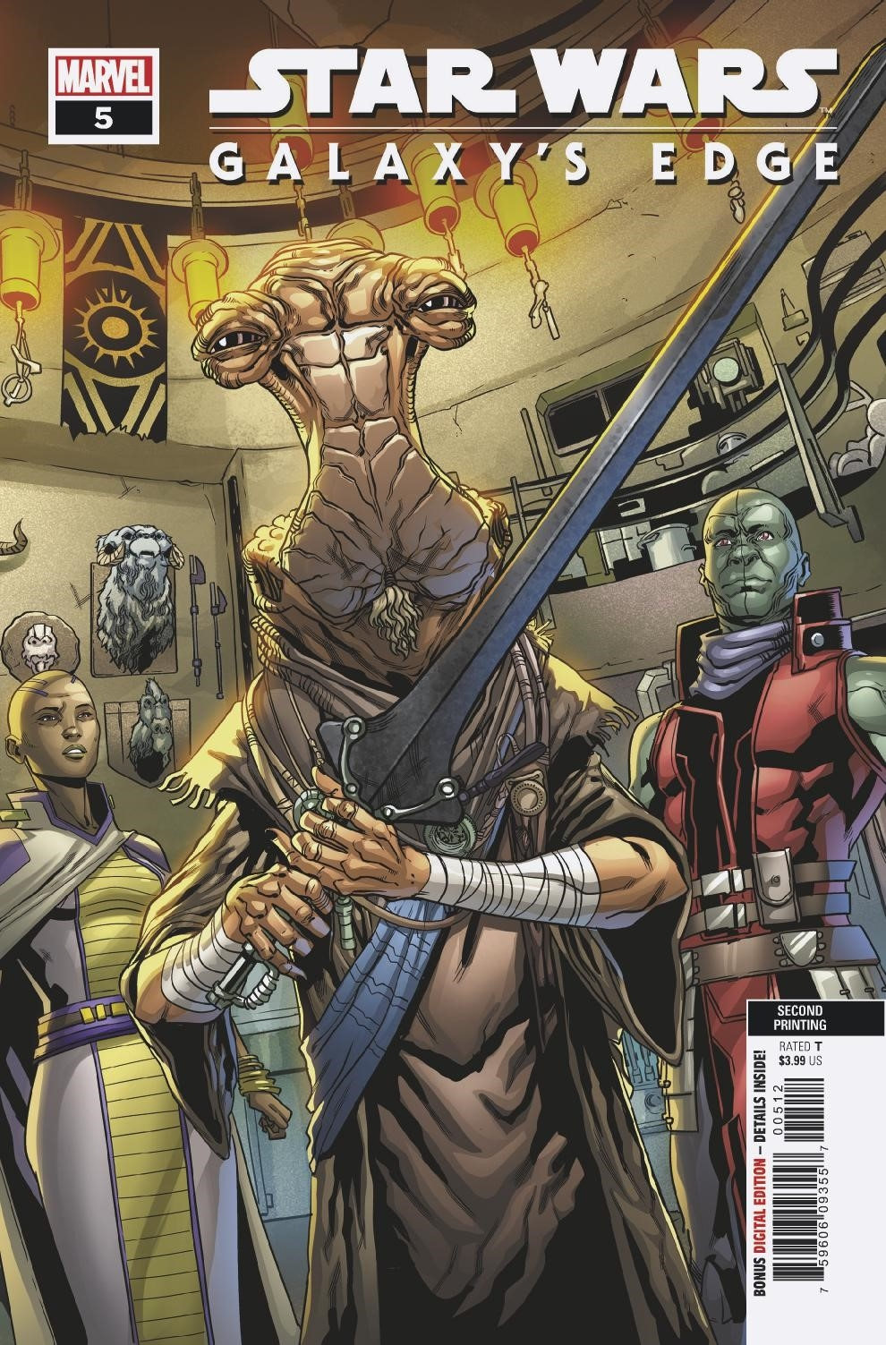 Galaxy's Edge #5 (2nd Printing) (09.10.2019)