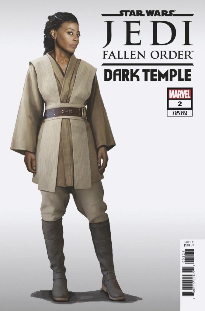 Jedi: Fallen Order: Dark Temple #2 (Game Variant Cover) (25.09.2019)