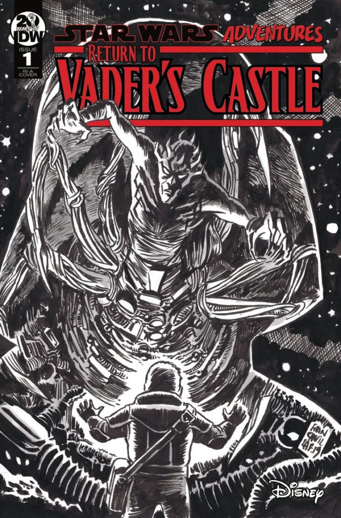 Return to Vader's Castle #1 (Francesco Francavilla Black & White Variant Cover) (02.10.2019)
