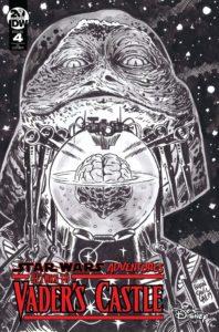 Return to Vader's Castle #4 (Francesco Francavilla Black & White Variant Cover) (23.10.2019)