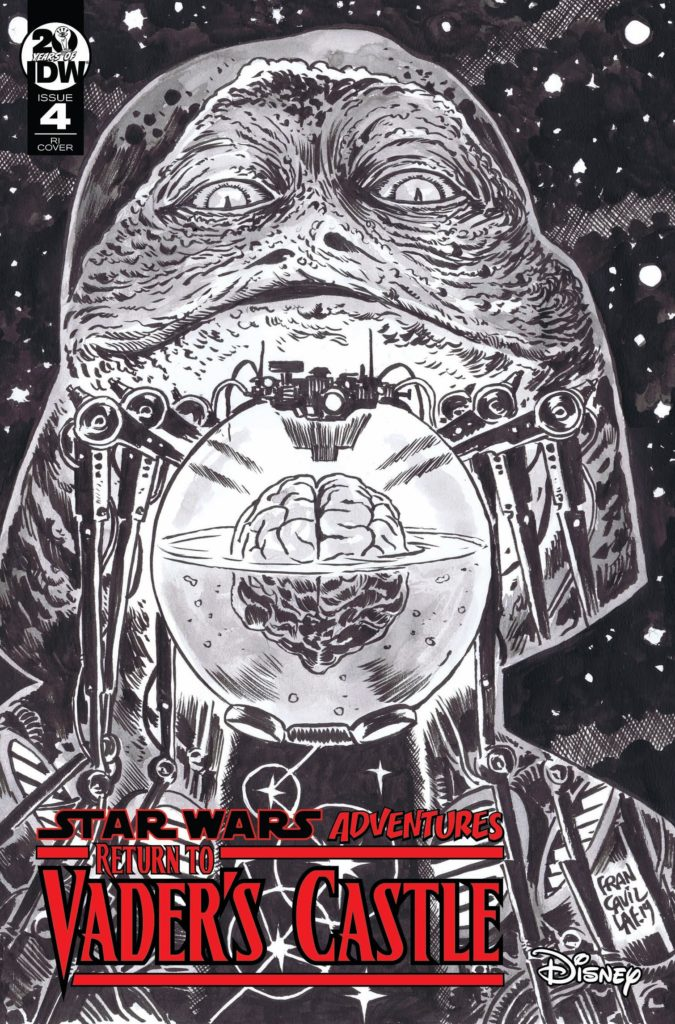 Return to Vader's Castle #4 (Francesco Francavilla Black & White Variant Cover) (23.10.2019)