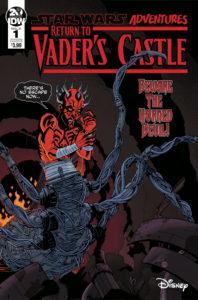 Return to Vader's Castle #1 (Cover B by Megan Levens) (02.10.2019)