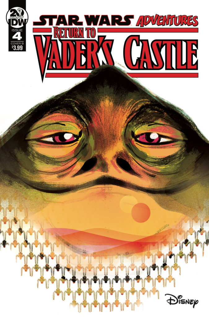 Return to Vader's Castle #4 (Cover B by Nicoletta Baldari) (23.10.2019)
