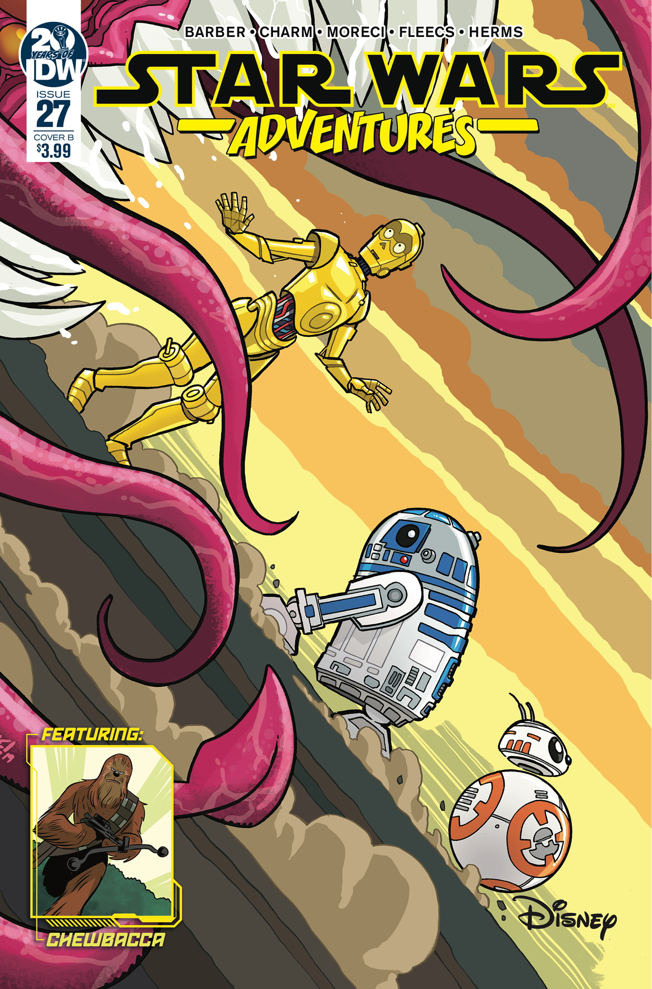Star Wars Adventures #27 (Cover B by Tony Fleecs) (23.10.2019)