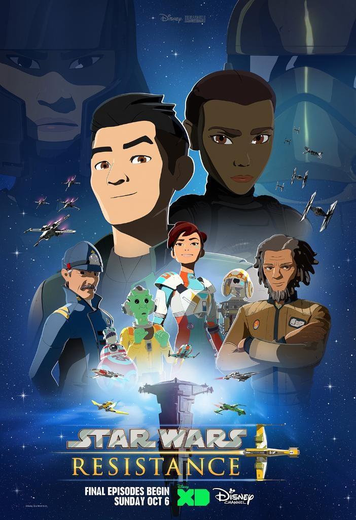 Star Wars Resistance Staffel 2 - Poster